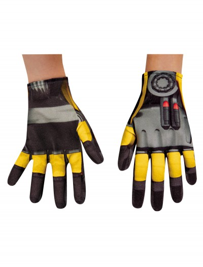 Child Bumblebee Movie Gloves buy now