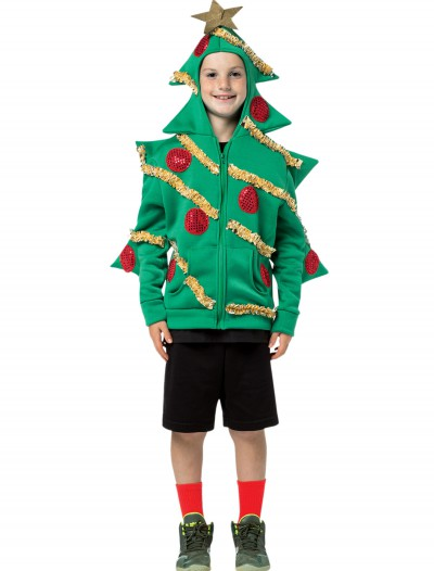 Child Christmas Tree Hooded Sweatshirt buy now