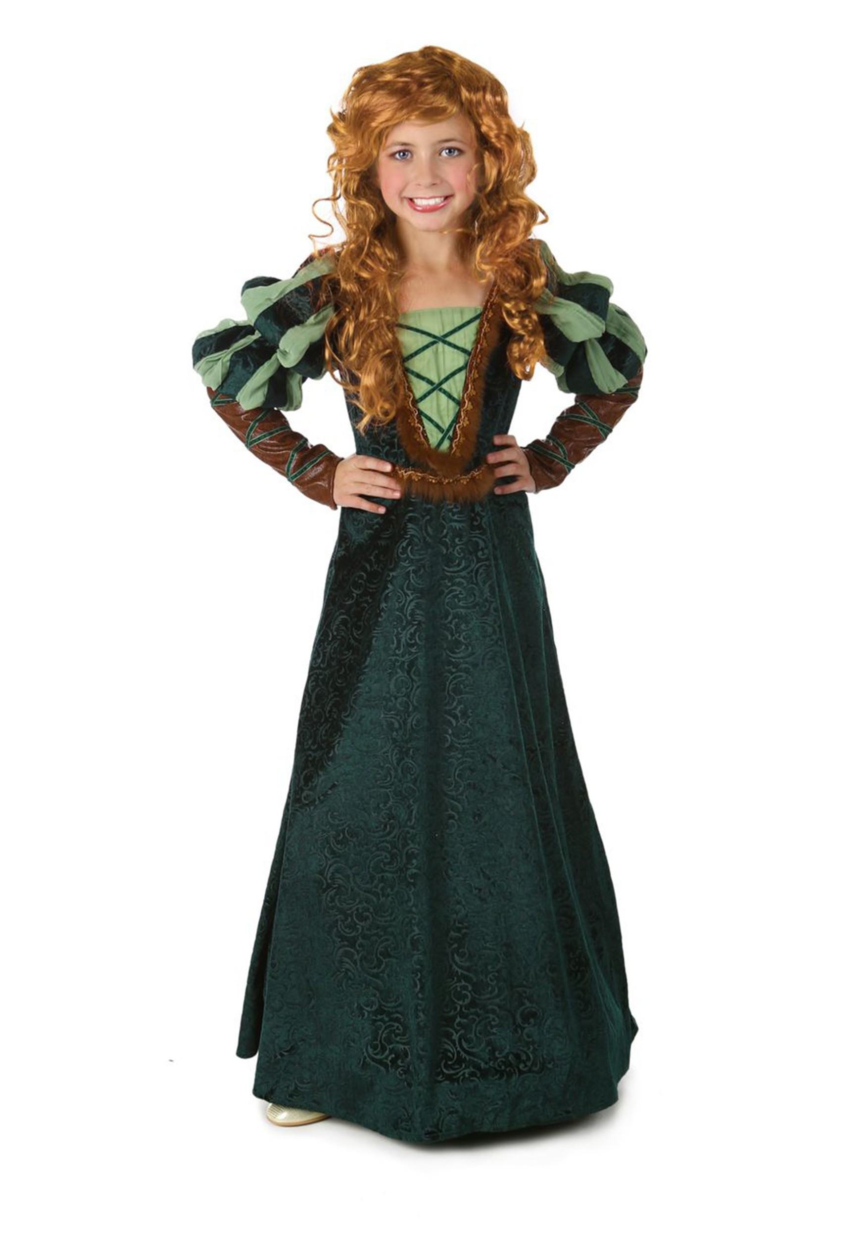 Child Courageous Forest Princess Costume  sc 1 st  Halloween Costumes : princess costumes halloween  - Germanpascual.Com