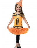 Child Crayola Glitz Orange Dress buy now