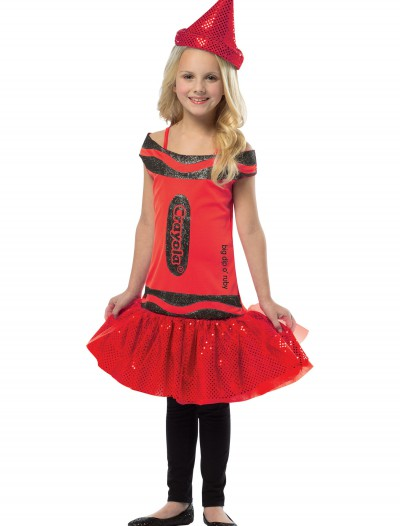 Child Crayola Glitz Ruby Dress buy now