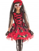 Child Day of the Dead Senorita Costume buy now