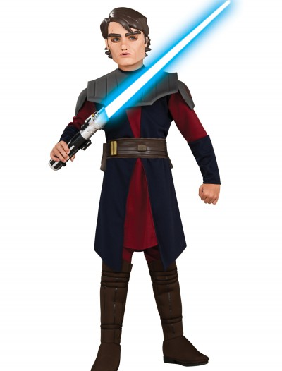 Child Deluxe Anakin Skywalker Clone Wars Costume buy now