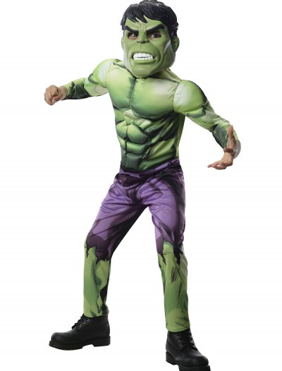 Child Deluxe Hulk Avengers Assemble Costume buy now