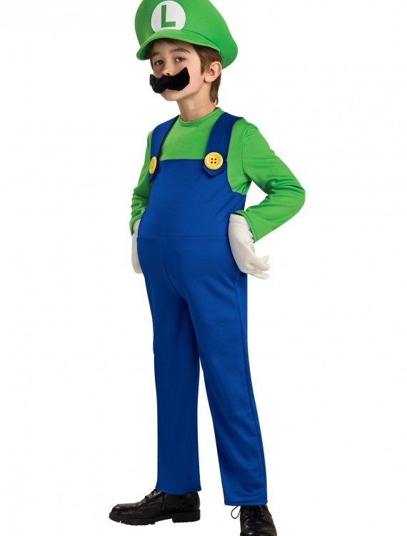 Child Deluxe Luigi Costume buy now