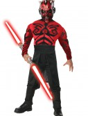 Child Deluxe Muscle Chest Darth Maul Costume buy now