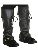 Child Deluxe Pirate Boot Tops buy now