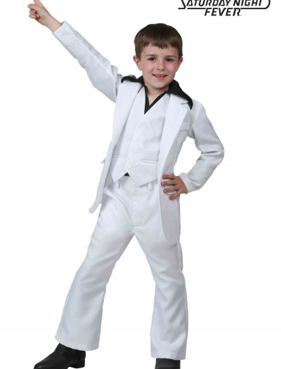 Child Deluxe Saturday Night Fever Costume buy now
