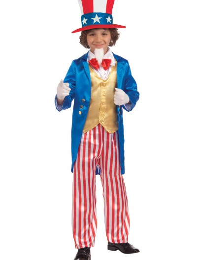 Child Deluxe Uncle Sam Costume buy now