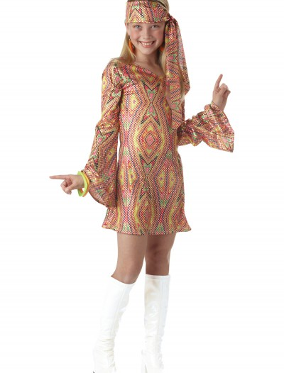 Child Disco Girl Costume buy now