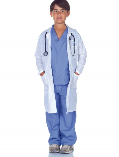 Child Doctor Scrubs with Lab Coat buy now