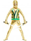 Child Gold Ninja Avengers Series III Costume buy now