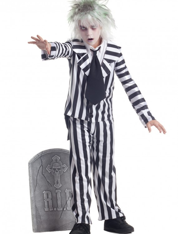 Child Graveyard Ghost Costume buy now