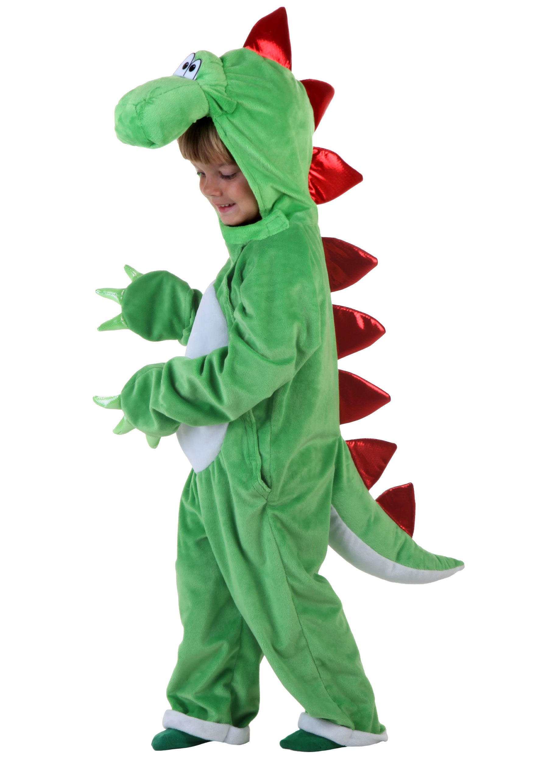Child Green Dinosaur w/ Red Spikes  sc 1 st  Halloween Costumes & Child Green Dinosaur w/ Red Spikes - Halloween Costumes