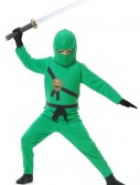 Child Green Ninja Costume buy now