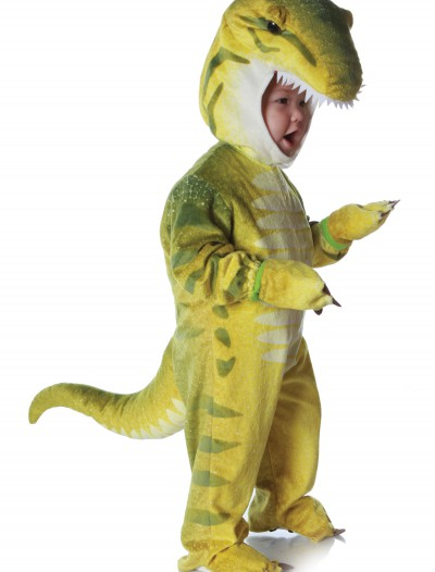 Child Green T-Rex Costume buy now
