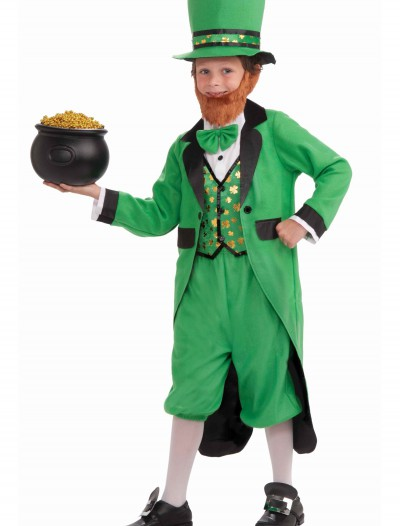 Child Leprechaun Costume buy now