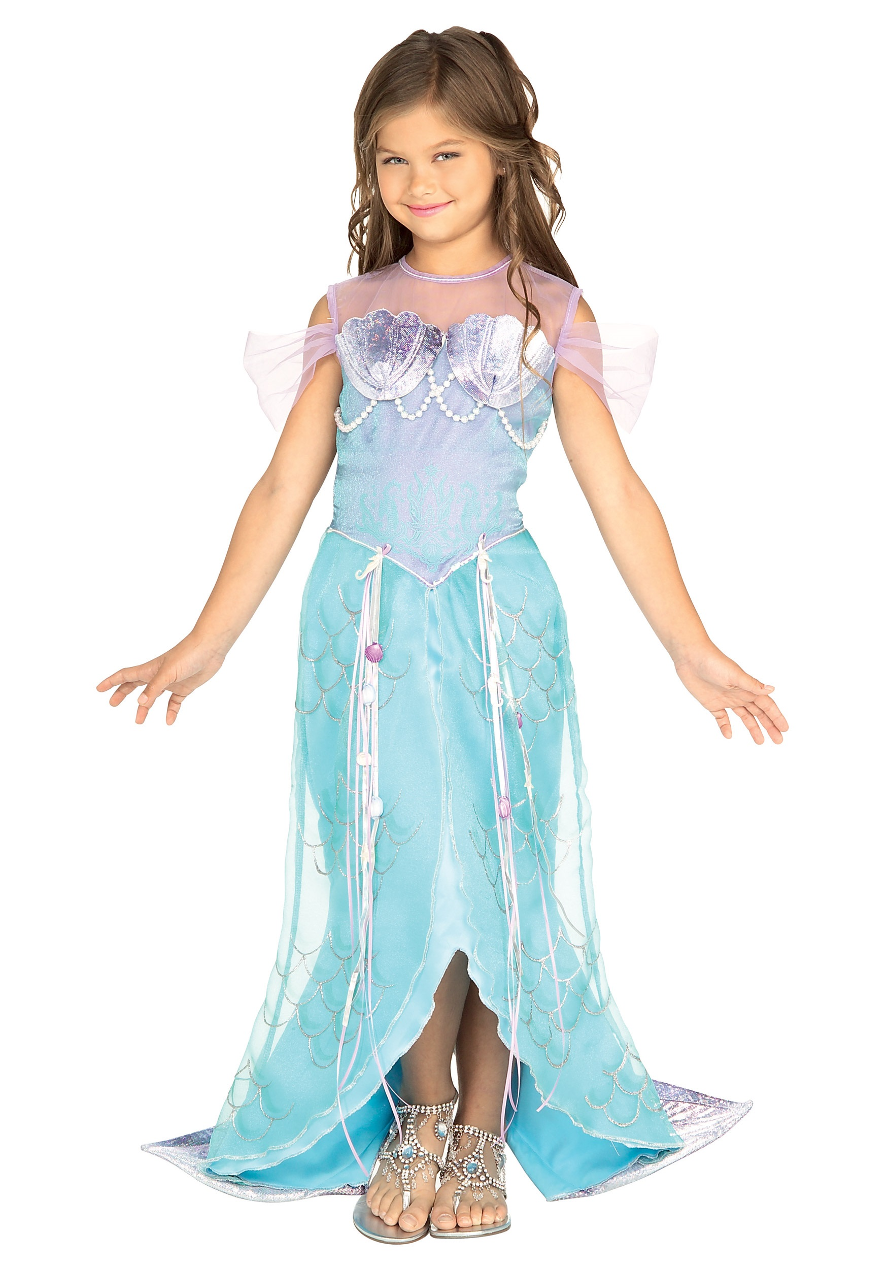 Child Mermaid Princess Costume  sc 1 st  Halloween Costumes : princess costumes halloween  - Germanpascual.Com