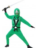 Child Ninja Avengers Series II Green Costume buy now