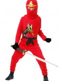 Child Ninja Avengers Series II Red Costume buy now