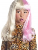 Child Pink and White Diva Wig buy now
