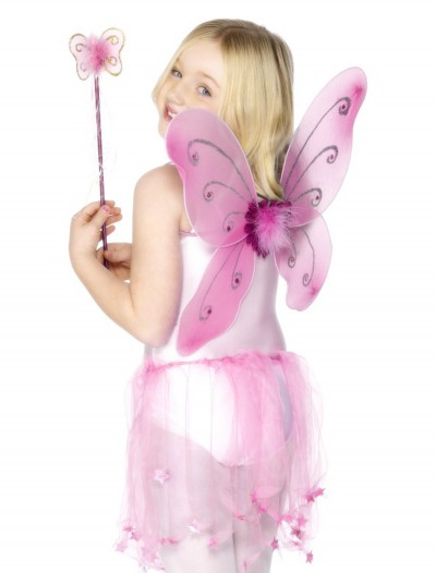 Child Pink Butterfly Wings Kit buy now