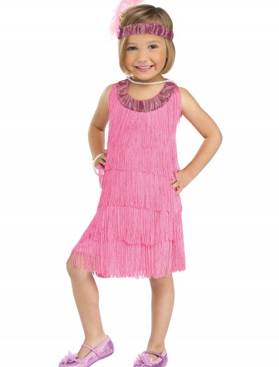 Child Pink Flapper Costume buy now