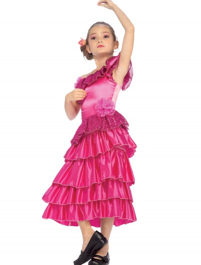 Child Pink Spanish Princess Costume buy now