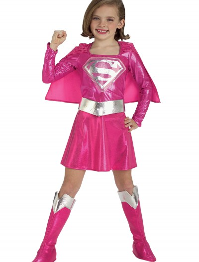 Child Pink Supergirl Costume buy now