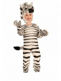 Child Plush Zebra Costume buy now
