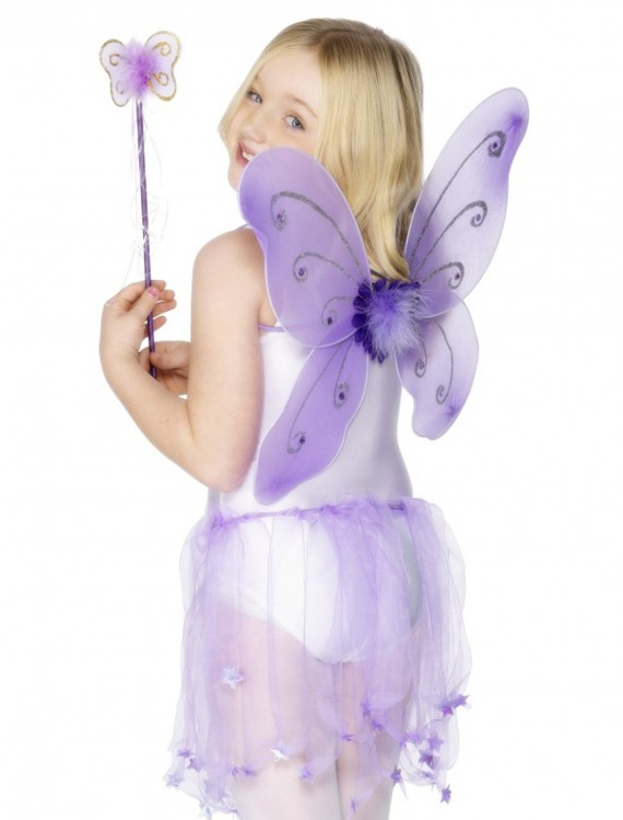 Child Purple Butterfly Wings Kit buy now