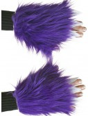Child Purple Furry Hand Covers buy now