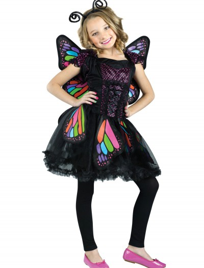 Child Rainbow Butterfly Costume buy now