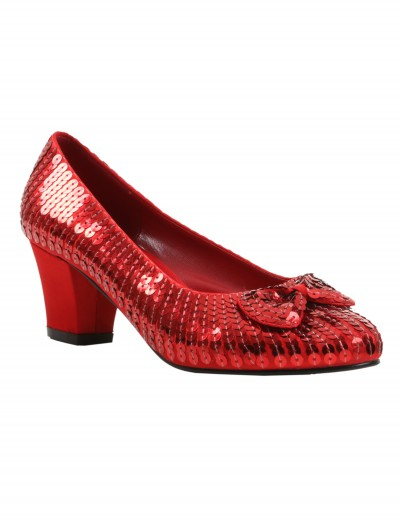 Child Red Sequin Shoes buy now