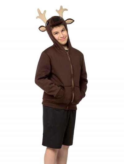 Child Reindeer Hooded Sweatshirt buy now