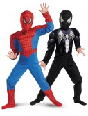 Child Reversible Muscle Chest Spiderman Costume buy now
