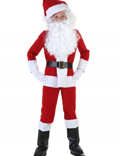 Child Santa Costume buy now