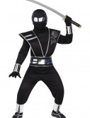 Child Silver Mirror Ninja Costume buy now
