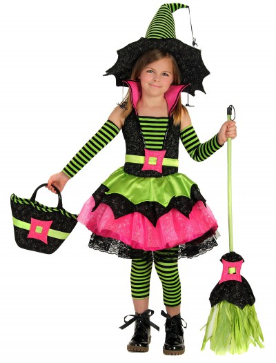 Child Spiderina Witch Costume buy now