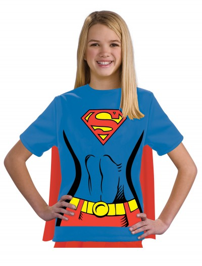 Child Supergirl T-Shirt Costume buy now