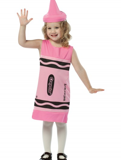 Child Tickle Me Pink Crayon Dress buy now