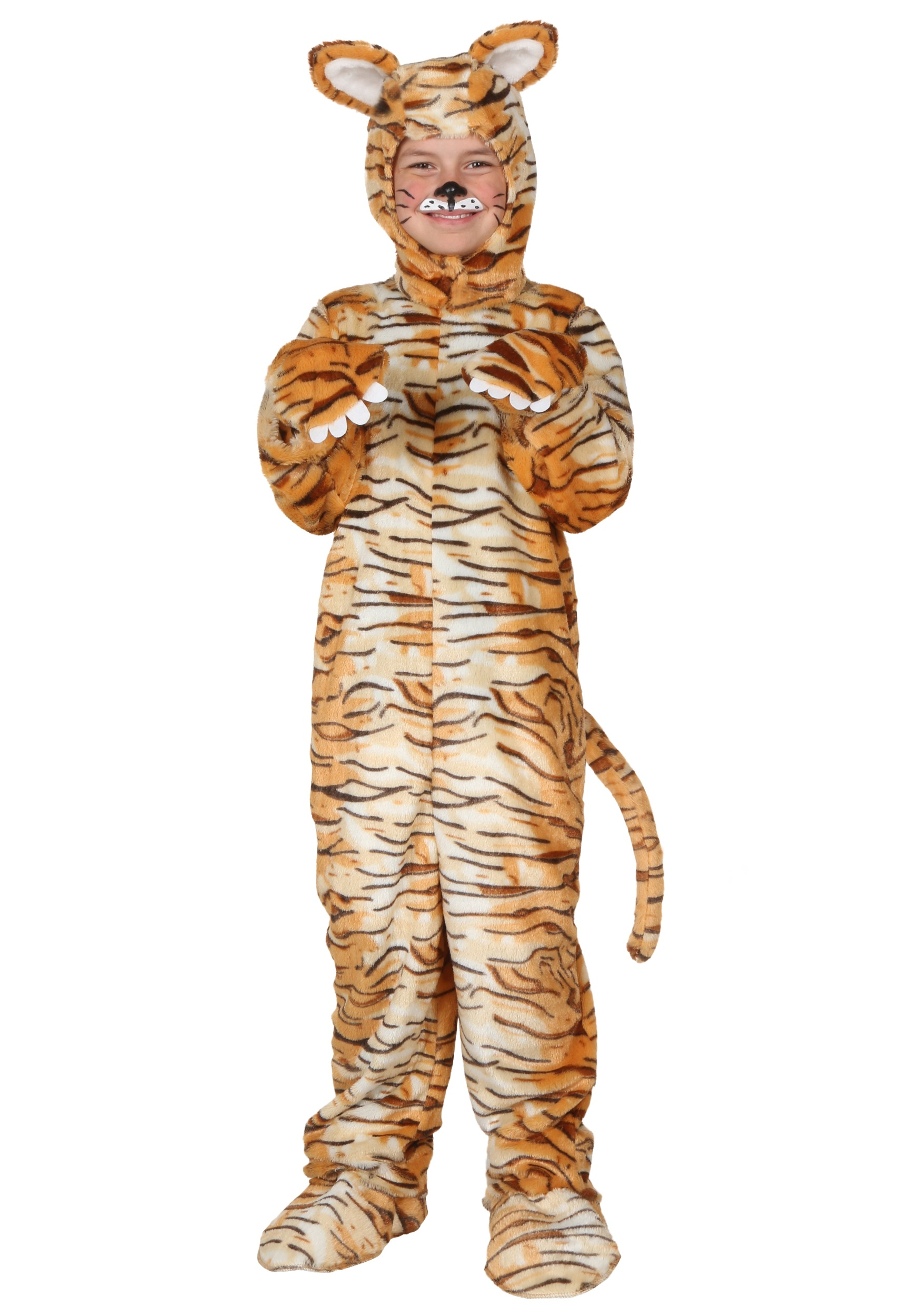 Child Tiger Costume Halloween Costumes