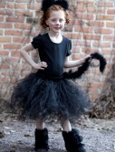 Child Tutu Black Cat Costume buy now