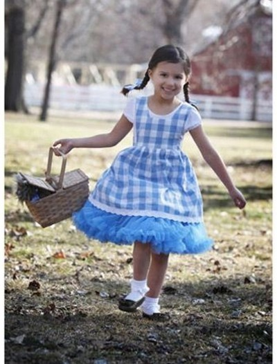 Child Kansas Girl Tutu Costume buy now
