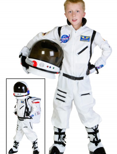 Child White Astronaut Costume buy now