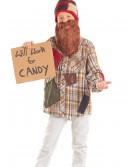 Child Will Work For Candy Hobo Costume buy now