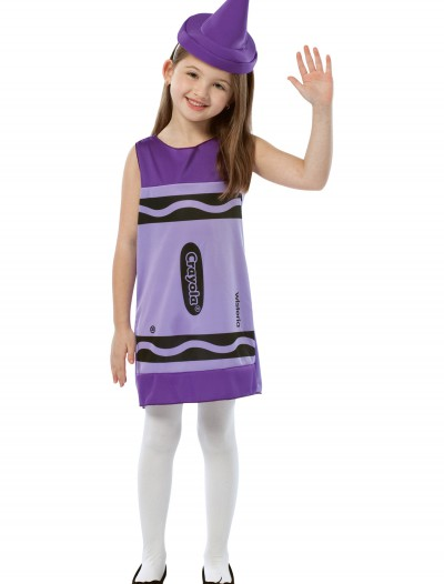 Child Wisteria Crayon Dress buy now