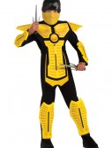 Child Yellow Ninja Costume buy now