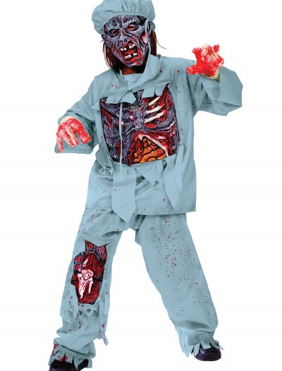 Child Zombie Doctor Costume buy now