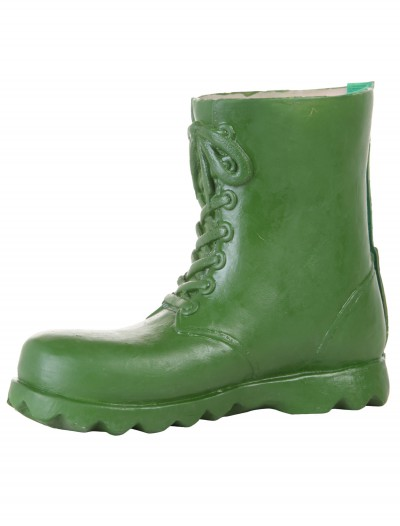 Children's Green Latex Boot Covers buy now